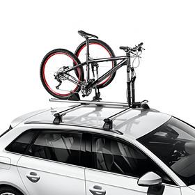 Audi Voorwielhouder voor op dakdragers, uitbreiding op fietshouder (voorvork)