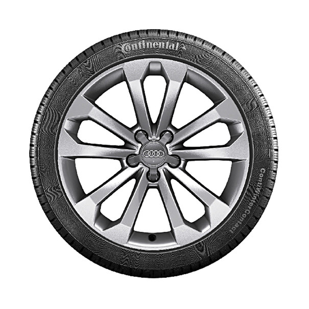 Audi 18 inch lichtmetalen winterset, 5-V-spaak