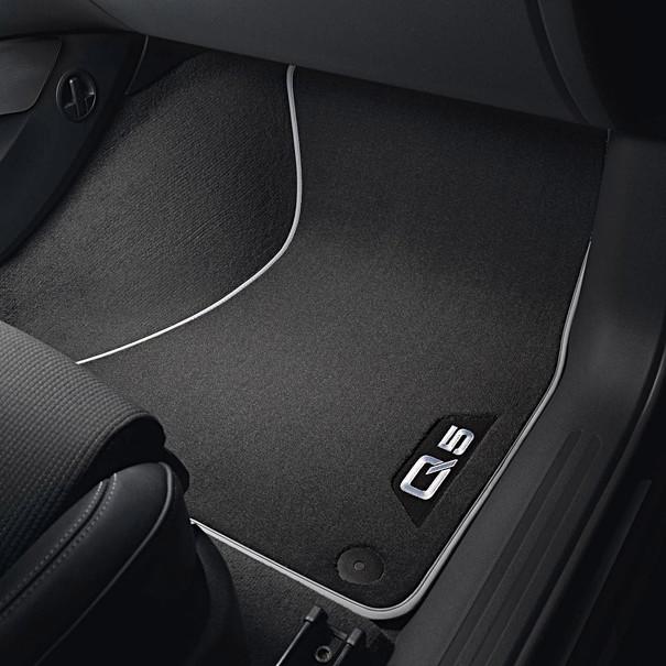 Audi Veloursmatten Q5, voor en achter