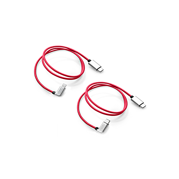 Audi laadkabel pakket USB-C en Lightning