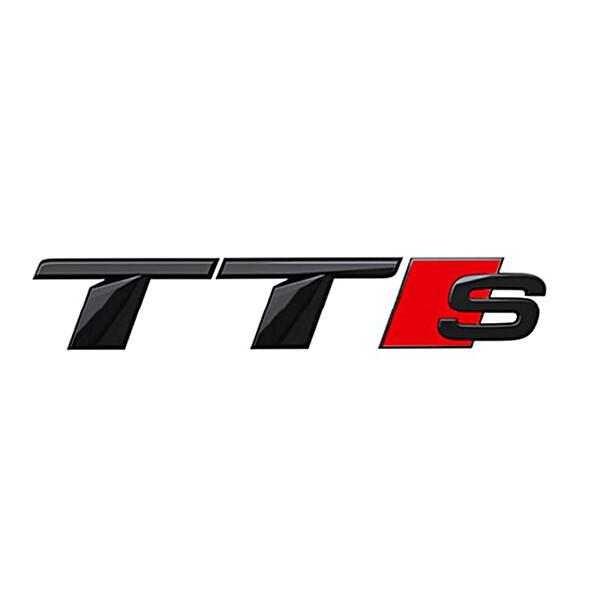 Audi Modeltype zwart achter TTS