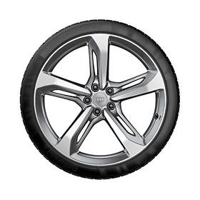 Audi 19 inch lichtmetalen zomerset, 5-spaak Blade