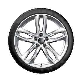 Audi 19 inch lichtmetalen zomerset, 5-dubbelspaak
