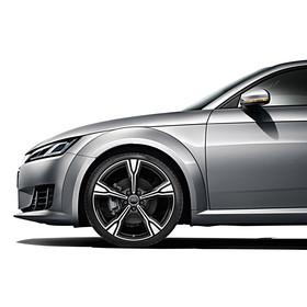 Audi 20 inch lichtmetalen zomerset, 5-arm Rima mat zwart
