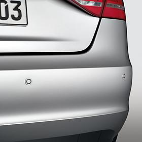 Audi Parkeerhulp achterzijde Q3