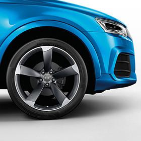 Audi 20 inch lichtmetalen zomerset, 5-arm Rotor antraciet