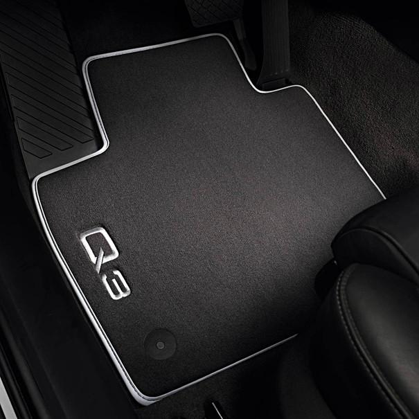 Audi Velours mattenset Q3, voor en achter