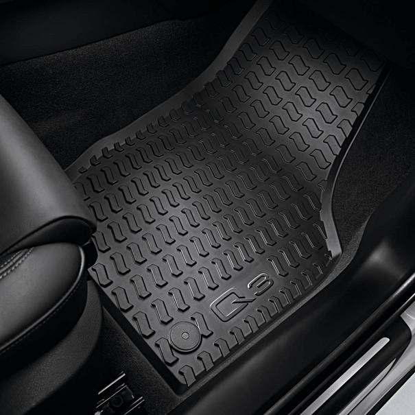 Audi Rubberen mattenset Q3, voor