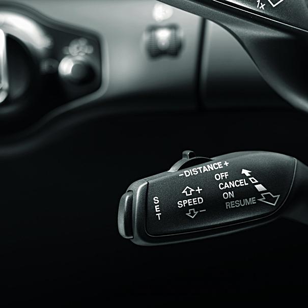 Audi Cruise control A3 / A3 Sportback (voor wagens met of zonder rijstrookwisselassistent)