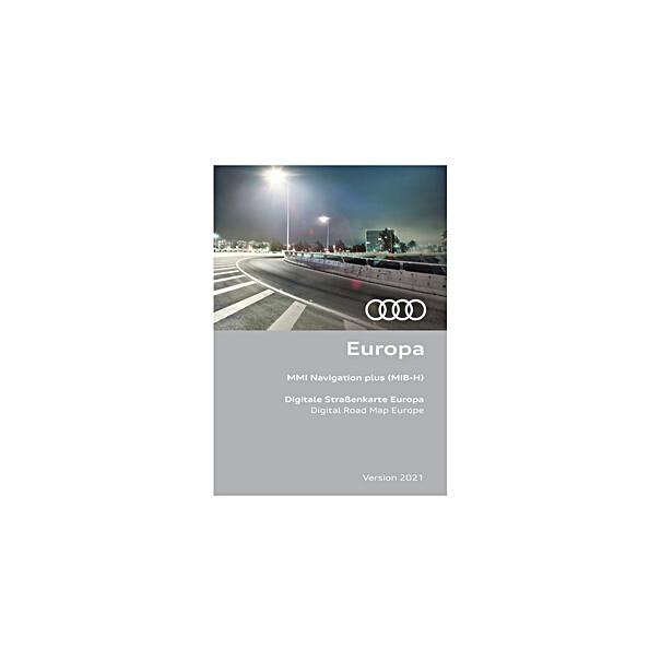 Audi Navi update Europa versie 2021 (MMI Plus MIB high)
