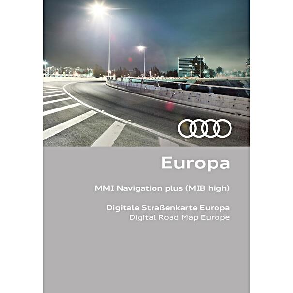 Audi Navi update Europa versie 2021/2022 (MMI Plus MIB high)
