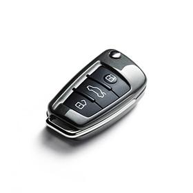 Audi Sleutelcover Daytona grijs, quattro