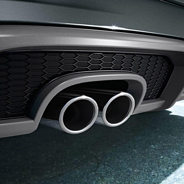 Audi Chromen uitlaatsierstuk A3, dubbel links