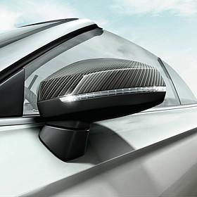 Audi Carbon spiegelkappen A3, zonder side assist