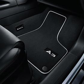 Audi Veloursmatten A3 HB, voor en achter