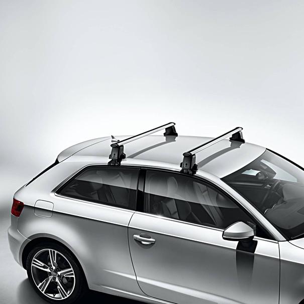 Audi Dakdragers A3 Sportback, zonder dakrailing