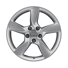 Audi 17 inch lichtmetalen winterset, 5-arm Helica