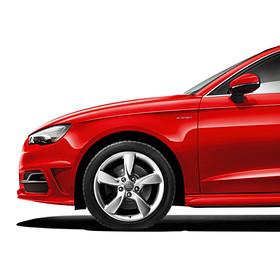 Audi 17 inch lichtmetalen zomerset, 5-arm Helica
