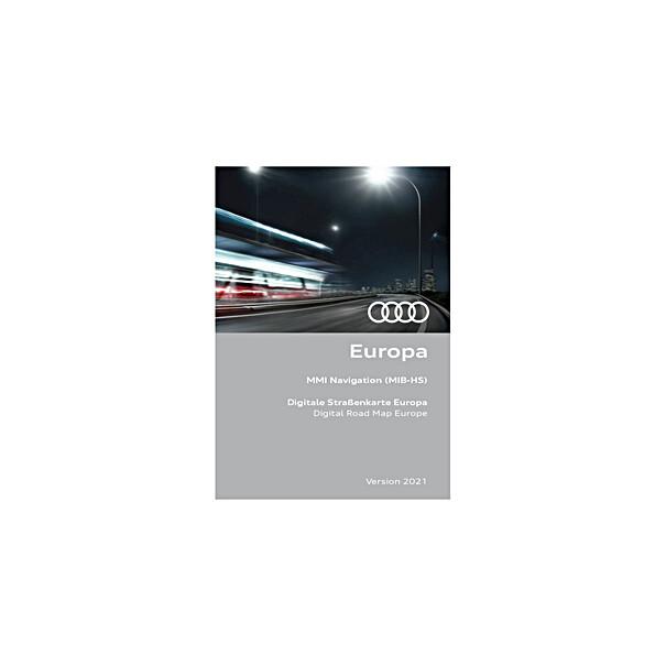 Audi Navigatie update MIB-HS, Europa 2021