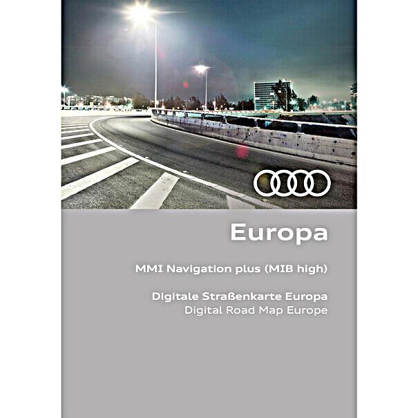 Audi Navigatie update MIB-HS, Europa 2021/2022