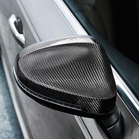 Audi Carbon spiegelkappen A4, zonder side assist