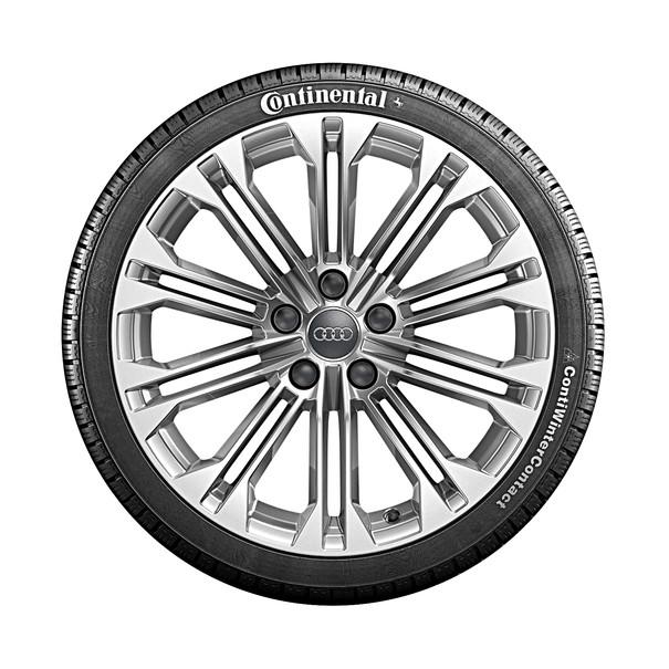 Audi 18 inch lichtmetalen winterset, 10-arm parallelspaak