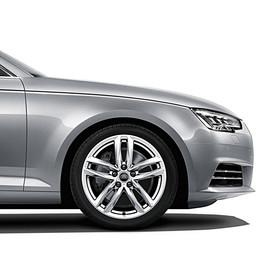 Audi 18 inch lichtmetalen zomerset, 5-arm-twin