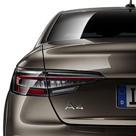 Audi LED achterlichten donker, A4 Limousine