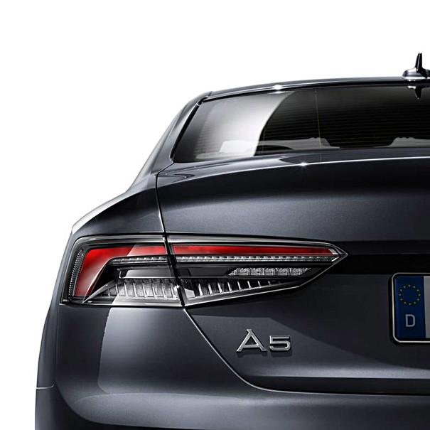 Audi LED achterlichten donker, A5