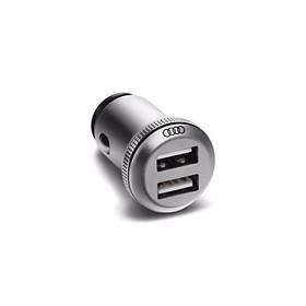 Audi USB lader (dubbel)