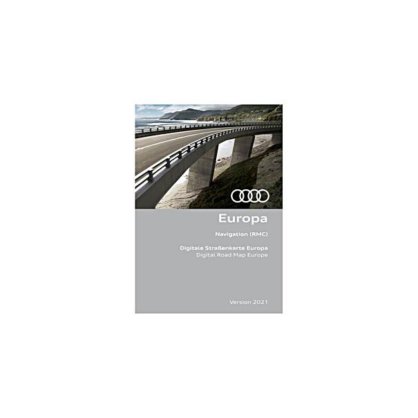 Audi Navigatie update RMC, Europa 2021