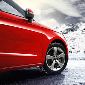 Audi 15 inch lichtmetalen winterset, 5-arm Pin