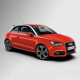 Audi 18 inch lichtmetalen zomerset, 5-arm Polygon antraciet