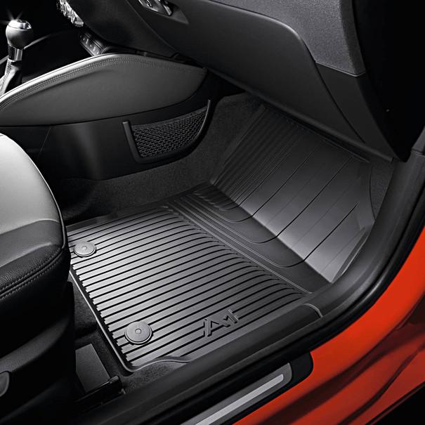 Audi Rubberen mattenset A1, voor