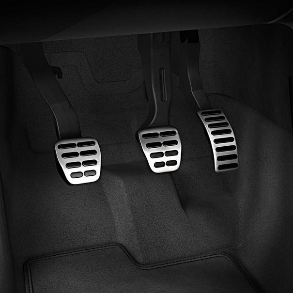 Audi Sportpedalen A1, automaat