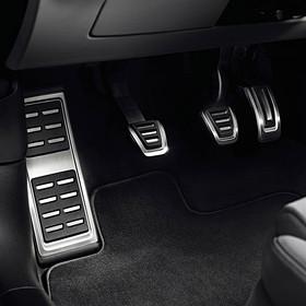 Audi Sportpedalen incl. voetsteun, handgeschakeld