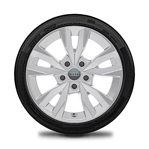 Audi 16 inch lichtmetalen winterset 5 spaak acumen design