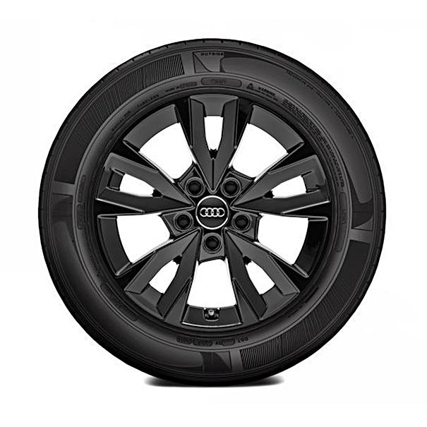 Audi 16 inch lichtmetalen winterset 5 spaak acumen design zwart