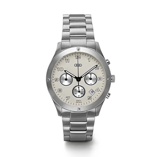 Audi Horloge chronograaf, roestvrijstaal