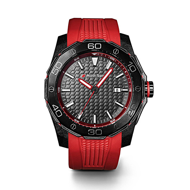 Horloge rood, Audi Sport
