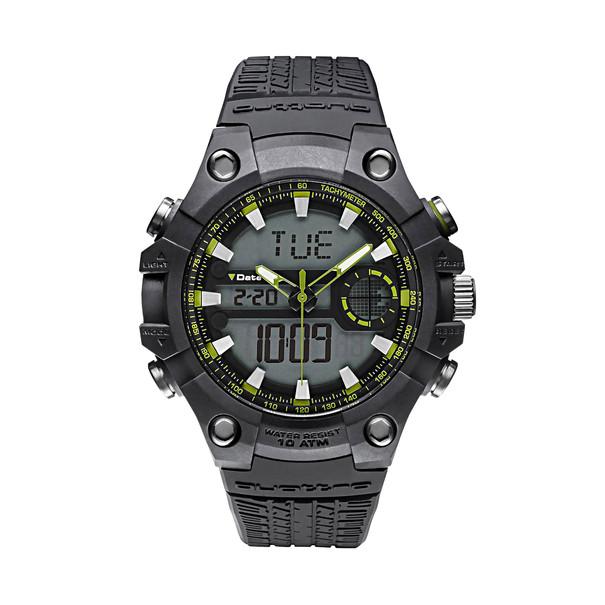 Audi Horloge Quattro, grijs-groen