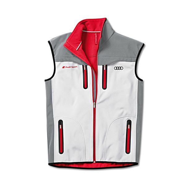 Softshell vest, Audi Sport