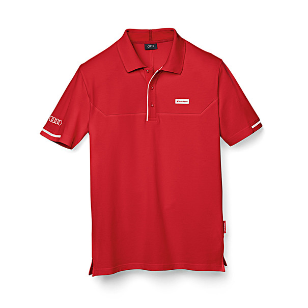 Poloshirt Audi Sport, rood