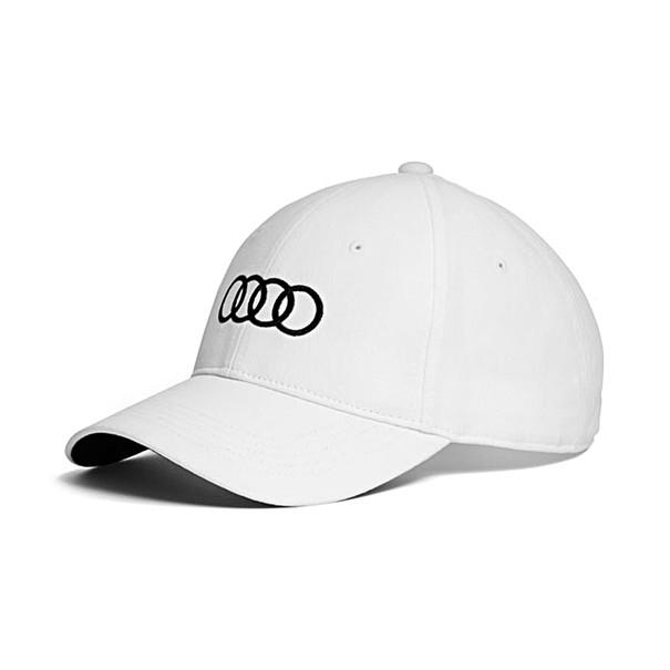Cap wit, Audi ringen