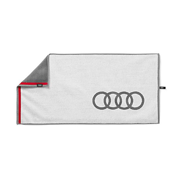 Handdoek groot, Audi ringen