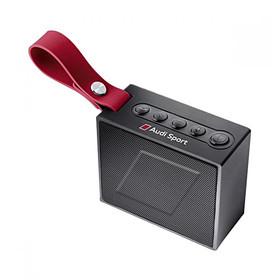 Bluetooth luidspreker Audi Sport,  zwart / rood