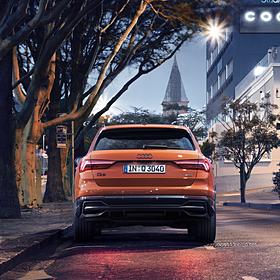Audi ringen zwart pakket A6