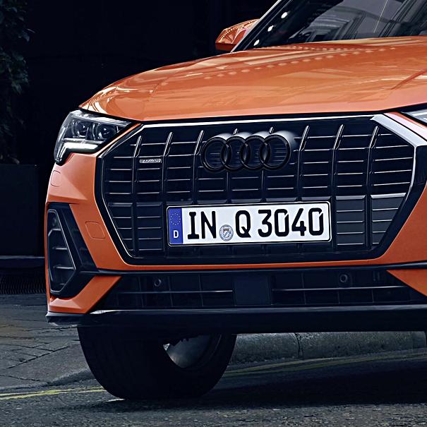 Audi ringen zwart pakket Q2