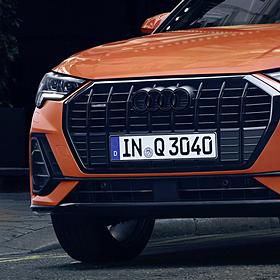 Audi ringen zwart pakket Q8