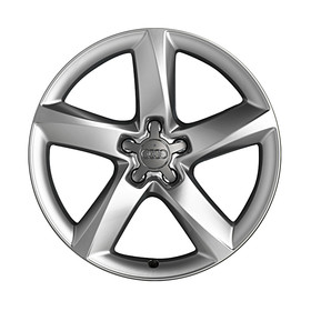 Audi 19 inch lichtmetalen winterset, 5-arm